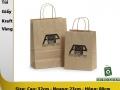 Kraft paper bag 322308
