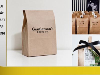 Túi giấy gói quà loại nhỏ