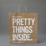 In túi giấy kraft có sẵn giá rẻ cho shop thời trang tại HCM