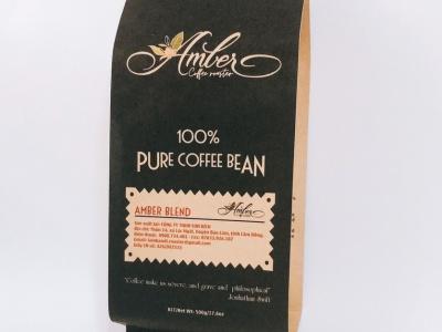 In túi cà phê giấy kraft nâu/ trắng - Thiết kế - Sản xuất khép kín tại Túi Giấy Môi Trường