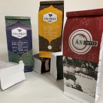 Túi cà phê 8 biên đáy đứng – Sẵn sàng in ấn cho những đơn hàng nhỏ