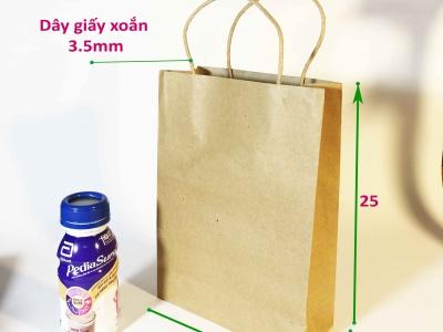 Túi giấy kraft nâu C28N18H08